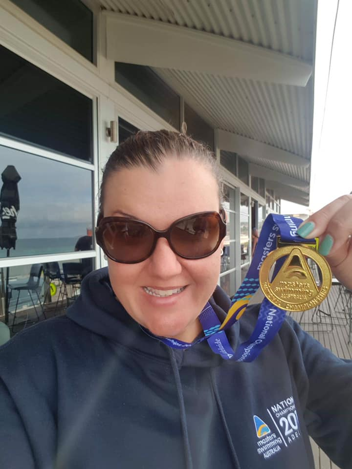Suzie wins gold in Adelaide 2019