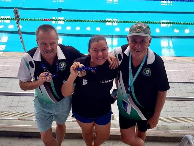 team medals in Adelaide 2019