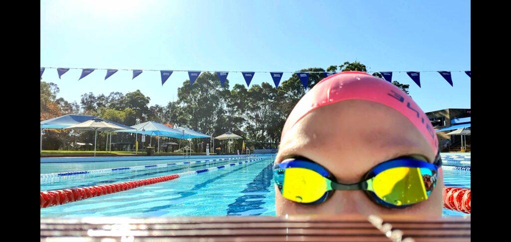 20200608 Stacey-Ferreira-swim-2 2nd virtual challenge
