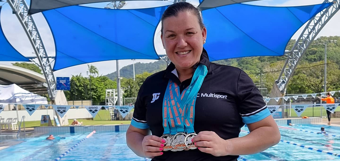20210522 Suzie Great Barrier Reef Masters Games news