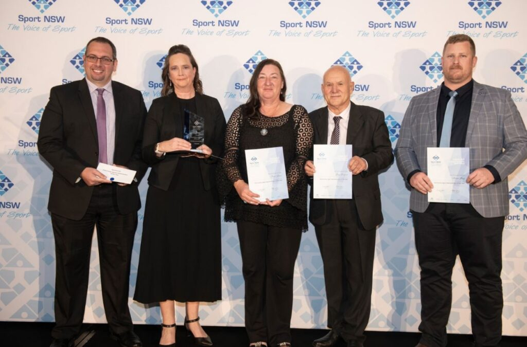 Greg Jacques Finalist Sport NSW awards