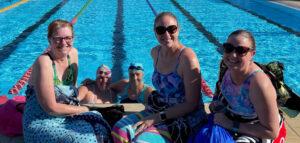 Back in the swim